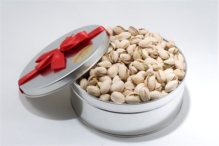 20oz Colossal California Pistachios Gift Tin