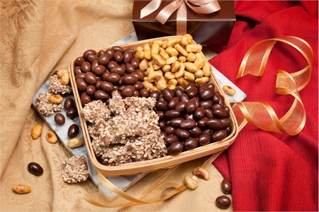 Almond Quattro Gift Tray