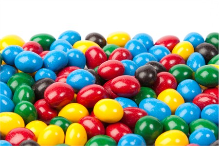 Assorted Colors Espresso Beans (1 Pound Bag)