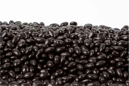 Black Chocolate Covered Sunflower Seeds (1 Pound Bag)