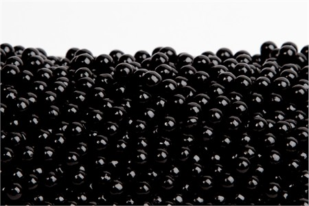Black Sugar Candy Beads (5 Pound Bag)