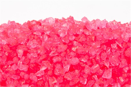 Cherry Rock Candy Crystals (25 Pound Case)