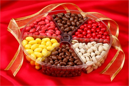 6-Section Chocolate Lovers Gourmet Tray