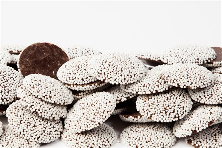 Chocolate Nonpareils (10 Pound Case)