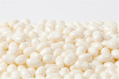 Jelly Belly Coconut jelly beans (1 Pound Bag) - White
