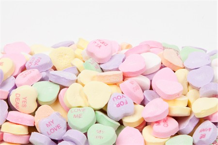 Conversation Hearts (4 Pound Bag)