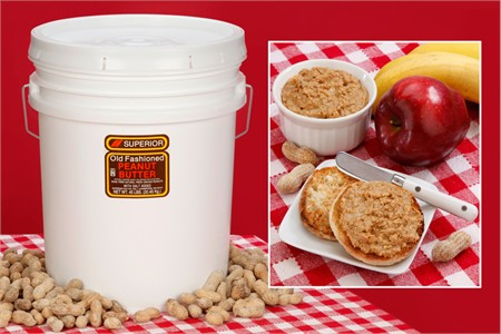 Crunchy All Natural Peanut Butter (45 Pound Pail)