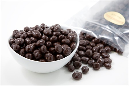 Dark Chocolate Covered Blueberries (5 Pound Bag)