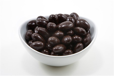 Dark Chocolate Covered Almonds (10 Pound Case)