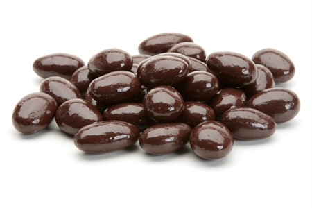 Dark Chocolate Covered Almonds (5 Pound Bag)