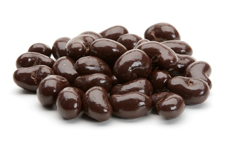 Dark Chocolate Covered Cashews (5 Pound Bag)