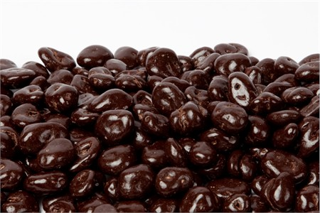 Dark Chocolate Covered Cranberries (25 Pound Case)