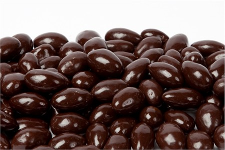 Dark Chocolate Covered Marcona Almonds (1 Pound Bag)