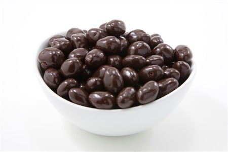 Dark Chocolate Covered Marcona Almonds (25 Pound Bag)