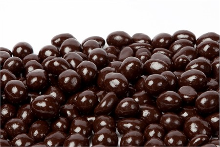 Dark Chocolate Covered Peanuts (1 Pound Bag)