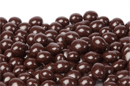 Dark Chocolate Covered Raspberries (1 Pound Bag)