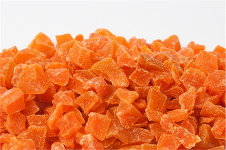 Dried Mango - Diced (22 Pound Case)