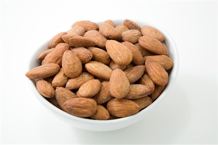 Dry Roasted Almonds (25 Pound Case)