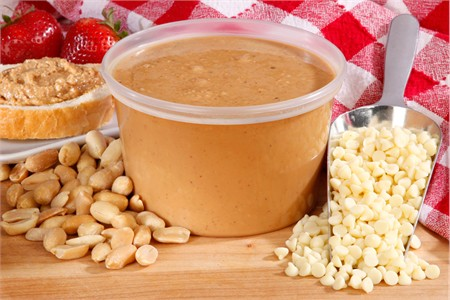 Fresh White Chocolate Peanut Butter (1 Pound Tub)