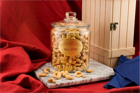 Giant Cashews (2.5 Pound Glass Jar)