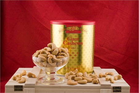 Giant Cashews Gold Tin (3.75 Lb. Tin)
