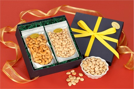 Giant Cashews/Marcona Almonds Gift Box