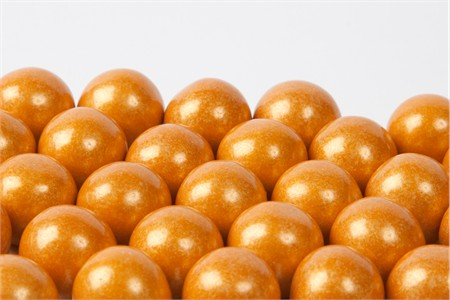 Gold Gourmet Gumballs (28 Pound Case)