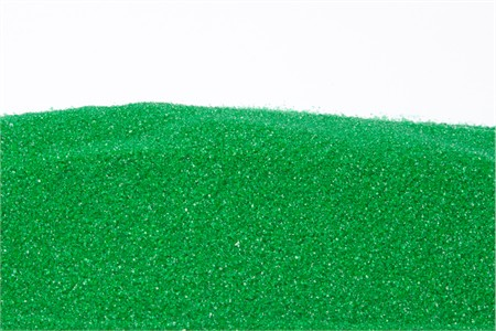 Green Sanding Sugar (25 Pound Case)