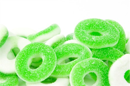 Gummy Apple Rings (1 Pound Bag)