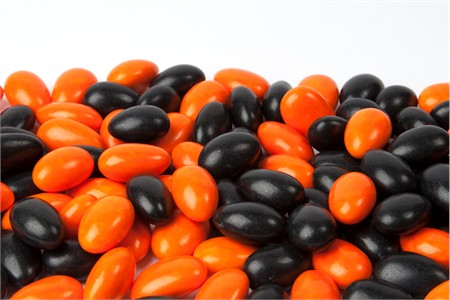 Halloween Jordan Almonds (1 Pound Bag)