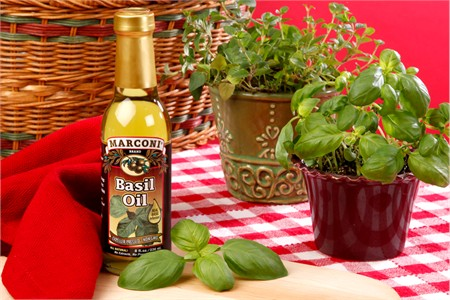 Herb Infused Basil Oil