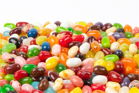 Jelly Belly Assorted Flavors beans (1 Pound Bag)