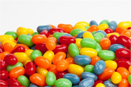 Jelly Belly Assorted Sour Mix jelly beans (1 Pound Bag)