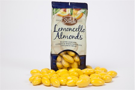 Lemoncello Almonds (5 oz Bag)
