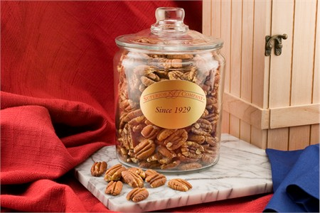 Mammoth Pecans (2.25 Pound Glass Jar)