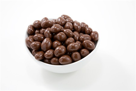 Milk Chocolate Covered Marcona Almonds (25 Pound Bag)