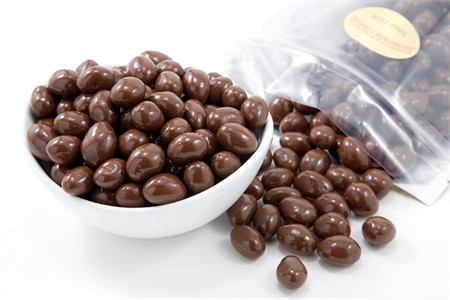 Milk Chocolate Covered Marcona Almonds (5 Pound Bag)