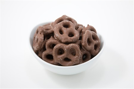 Milk Chocolate Pretzels (10 Pound Case)
