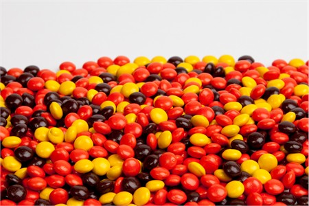 Mini Reese's Pieces (10 Pound Case)