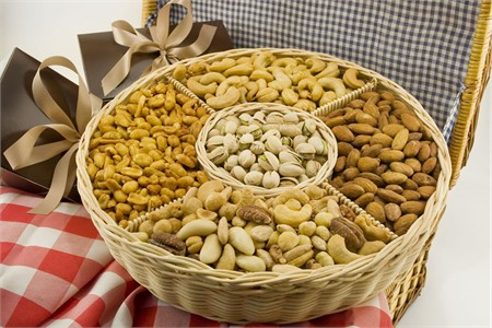Five Section Nut Basket (4.5 Pound Basket)