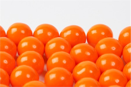 Orange Gourmet Gumballs (4 Pound Bag)