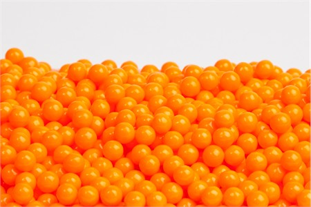 Orange Sugar candy Beads (5 Pound Bag)