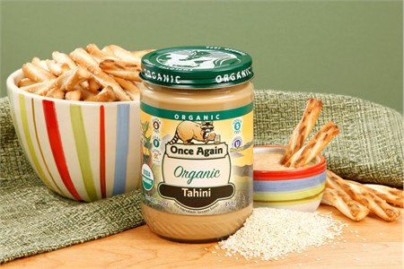 Organic Sesame Tahini (1 Pound Jar)