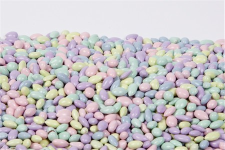 Pastel Mix Chocolate Covered Sunflower Seeds (1 Pound Bag)