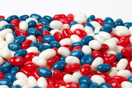 Patriotic Jelly belly (25 Pound Case)