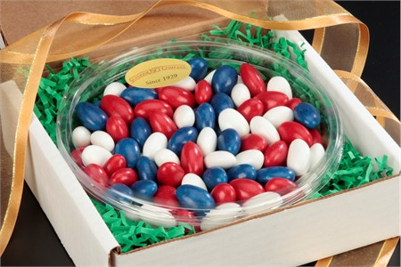 Patriotic Jordan Almonds Gourmet Tray