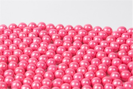 Pearl Bright Pink Sixlets (25 Pound Case)