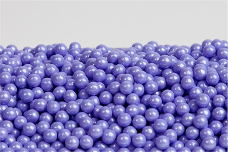 Pearl Lavender Sugar Candy Beads (25 Pound Case)