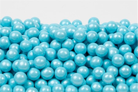 Pearl Powder Blue Sixlets (1 Pound Bag)