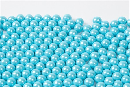 Pearl Powder Blue Sixlets (25 Pound Case)